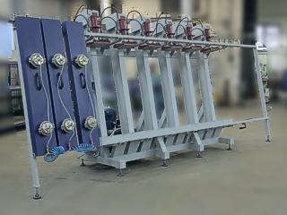 Гидравлический пресс для производства бруса Эльбрус-2Г